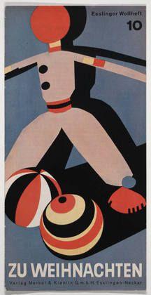 german christmas poster