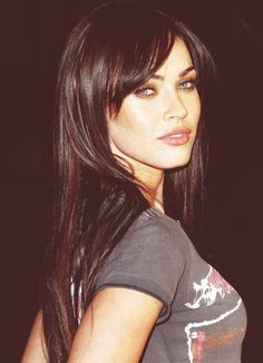 Megan Fox...if I should ever get bangs....contemplating