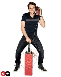 James Franco GQ Comedy Issue June 2013