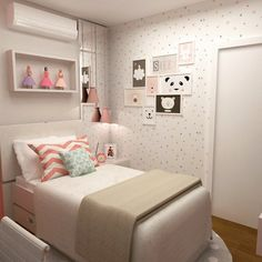 "94 Me gusta, 7 comentarios - CAS Arquitetos Associados (@cas.arquitetosassociados) en Instagram: ""Dormitório menina """