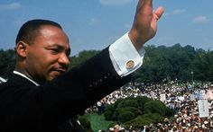 """Dr. Martin Luther King Jr. donnant «I Have a Dream"""" discours de son."""