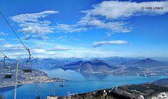 La vista dai 1492 metri del #Mottarone ( #Stresa #Verbania #Piedmont #Italy )