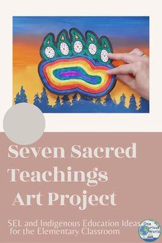 Seven Sacred Teachings for Social Emotional Learning - Courage Aboriginal Art For Kids, Aboriginal Day, Aboriginal Education, Indigenous Education, Art Education, Indigenous Art, Aboriginal Tattoo, Art Lessons For Kids, Art Lessons Elementary