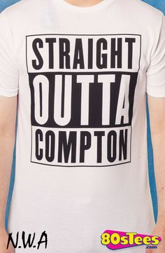 NWA Straight Outta Compton T-Shirt: NWA Mens T-Shirt If rap is music to your ears, then you need this N.W.A  album design men's fashion t-shirt.