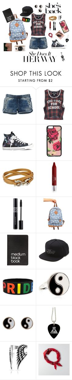 """""""She does it her way"""" by bandsandbroadway ❤ liked on Polyvore featuring Ralph Lauren, Filles à papa, Converse, Dolce&Gabbana, Salvatore Ferragamo, PurMinerals, Christian Dior, Dinks, Vans and Urban Outfitters"""