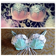 Maybe even these two rave bras for edc