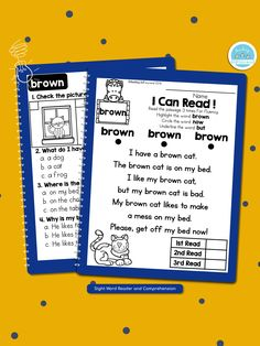 Check our best seller sight word passages! Link in the bio. These are perfect for struggling readers and ESL students in kindergarten and first grade to build confidence in their reading ability.  .  .  .  .  #teachingbiilfizzcend #teachingbiilfizzcendproducts #kindergarten #firstgrade #sightwords #teacherspayteachers #tpt #tptseller #tptteachers #iteachtoo #iteachfirst #teachersofig #teachersfollowteachers #iteachk #earlychildhood #earlychildhoodeducation First Grade Writing, Teaching First Grade, First Grade Math, Sight Word Readers, Sight Words, Homeschool Kindergarten, Kindergarten Literacy, Reading Passages, Reading Comprehension