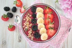 Acai and Berry Smoothie Bowl
