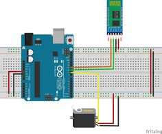 If you are looking to make Android app to control a servo motor, this is a perfect instructable for you, here you can follow a step by step procedure video to know how to make an android app using MIT app inventor and to control a servo motor.