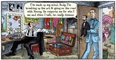 Who really listens to anyone?  And why do WE need it so much? Bizarro 06-28-15 WEB