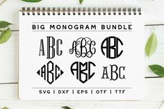Vine Monogram, Circle Monogram, Monogram Fonts, Monograms, Script Fonts, Font Logo, Handwriting Fonts, Serif Font, Calligraphy Fonts