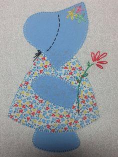 30's Reproduction Fabric Sunbonnet Sue Quilt Kit                                                                                                                                                      More