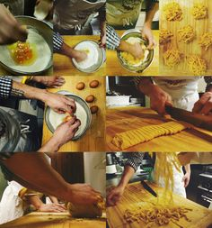 He said, she said: Cooking classes in Bologna >>> I'd love to do this!