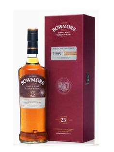 Whisky BOWMORE 23 ans 1989 Port Matured 50,8% - La Maison du Whisky