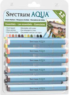 Spectrum Aqua Markers - Essential
