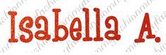 6 LETTER Red Glitter letters Name Custom T-shirt vinyl Heat Transfer Iron On Personalized U choose Font on Etsy, $6.00