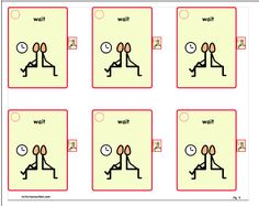 Instructions for Downloading  & Making Ringed Cue Cards:    1.   Below, click on PDF - Card #1 -  (repeat with all cards)    2.   Save & Print     3.   Laminate...