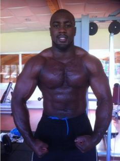Teddy  Riner - judoka.  From Guadeloupe.