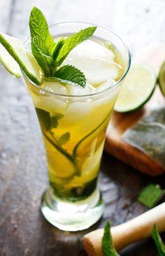 Iced Green Tea Mojito | Green Tea – Drink Recipes