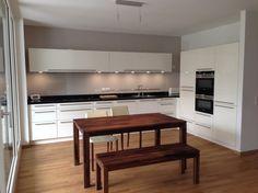 Unsere neue Küche ist fertig. Der Hersteller ist: ProNorm - TOP/Line…