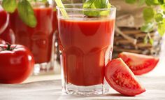 Homemade Fresh Tomato Juice