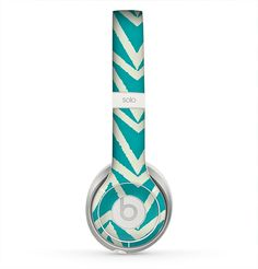 The Bleeding Green Skin for the Beats by Dre Solo 2 Headphones