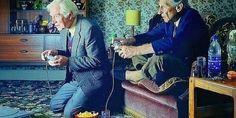New Study: Playing Video Games Helps Brain Function In Elderly People #geek - yesssss
