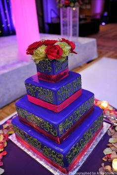 indian wedding cakes | cakes indian wedding cakes blue wedding cake 96 of 98