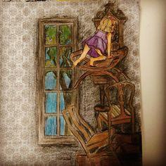 """#thetimegarden #girl #mysteriouscuckooclock"""