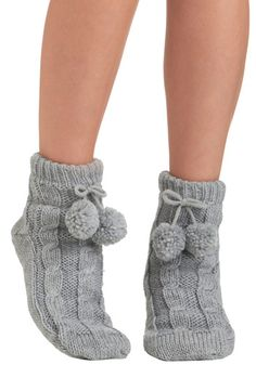Toasty Toe Touch Socks