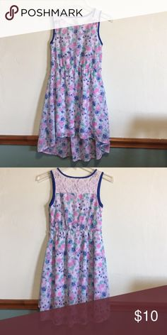 Flowery Dress Soft spring/summery dress. Pink, blue flowers Guess Dresses Casual