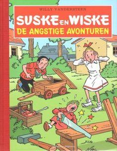 Suske en Wiske - De angstige avonturen - luxe