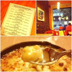 An East Village favorite: S'Mac for macaroni and cheese.