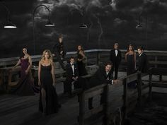 Revenge Season 2 Cast.. who's hand is that at the bottom?!?!? O.O