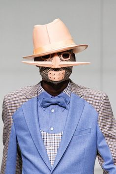 Walter Van Beirendonck--just what my man would wear uh huh....