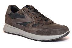 IGI & CO 87402 00 GRIGIO Fango Sneakers Scarpe Uomo Invernale Casual Stringata