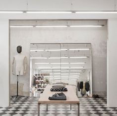 Beautiful Fashion Retail Interiors by Arrhov Frick | http://www.yellowtrace.com.au/2013/10/28/arrhov-frick-fashion-retail-interiors/