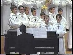 2 Choir Boys Sing The Meow Song.  This will have you laughing!  Who says church has to be boring?