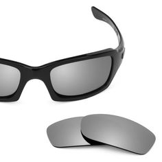 799abc22823 Revant Replacement Lenses for Oakley Fives Squared Titanium. Color   Titanium MirrorShield™ - Non