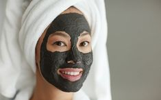 Who doesn't want a softer, smoother, clearer and more radiant-looking complexion? #CharcoalMask Pore Mask, Blackhead Mask, Skin Mask, Blackhead Remover, Makeup Remover, Cleanser For Sensitive Skin, Facial Cleanser, Face Mask For Pores, Diy Face Mask