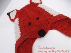 Ravelry: Project Gallery for Fox Hat and Mittens pattern by Emma Varnam