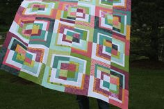 modified bento box quilt top | Flickr - Photo Sharing!