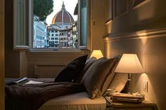 Room with a view Florence. Apartment Florence historical centre. Hotel with a view.