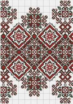 Ukraine, from Iryna Halloween Embroidery, Folk Embroidery, Embroidery Patterns Free, Cross Stitch Embroidery, Machine Embroidery, Embroidery Designs, Cross Stitch Borders, Cross Stitch Kits, Cross Stitch Charts