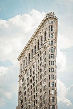Flatiron building by Ilana..S on Flickr.