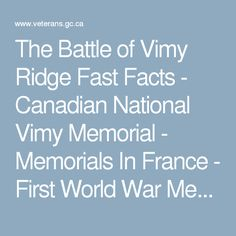A Modest Proposal Essay Topics The Battle Of Vimy Ridge Fast Facts  Canadian National Vimy Memorial   Memorials In France  First World War Memorials Overseas  Memorials  Overseas  Essay Topics High School also Healthy Foods Essay  Best Vimy Memorial Images  Monuments Aquitaine Bordeaux Science Essay Topic