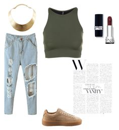 Puma Creepers Beige Outfit