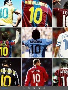 La 10 siempre se la dan a los mejores