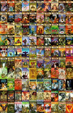 Steve Jackson & Ian Livingstone's Fighting Fantasy series