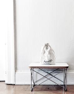 Via Whitelivingetc | Eames LTR Side Table | White | Minimal